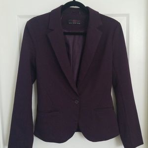 New Look Burgandy Blazer UK Size 10